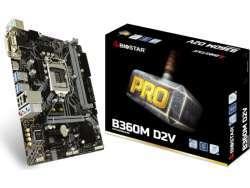 Biostar MB B360M D2V B360 S1151 mATX Intel B360M D2V