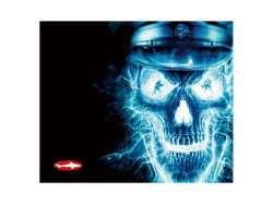 Reekin Tapis de Souris de Jeu 300x250mm (Skull, GAM-001E)