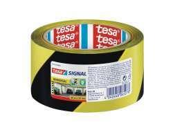 Tesa Markierungsband 50mm/66m (Gelb/Schwarz)