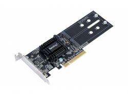 Synology NAS M2D18 Adapter für Dual M.2 SATA SSD NVMe M2D18