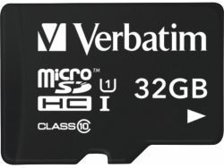Verbatim MicroSD/SDHC Card 32GB Tablet U 1 + CR Retail 44059