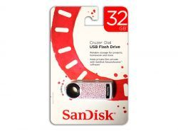 Sandisk USB FlashDrive 32GB Cruzer Dial Blister SDCZ57-032G-T4RS