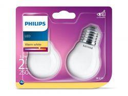 Philips LED Warm White E27 2,2W=25W 250 Lumen (2 St.)