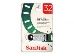Sandisk USB FlashDrive 32GB Cruzer Dial Blister SDCZ57-032G-T4GS
