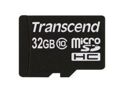 Transcend Micro SDHC Card 32GB UHS1 600x w/Adap. TS32GUSDHC10U1