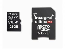 Integral Memory card MicroSDXC Ultima Pro 128GB