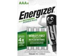 Energizer Akku Recharge AAA HR03 Micro 700mAh 4St. E300626600