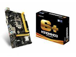Biostar MB H310MHD3 (H310,S1151,mATX,DDR3,Intel) H310MHD3