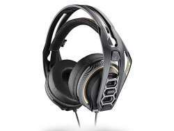 Plantronics RIG 400 Pro HC Gaming Headset, Black/Gold