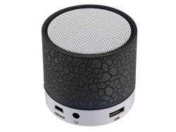 Reekin Coley Haut-parleur Bluetooth avec lumiére LED multicolore + kit main-libre (noir)
