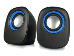2.0 Multimedia Lautsprecher D-O5A schwarz
