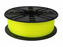 Gembird3 Filamentcassette PLA fluorrescent gelb 1.75mm 1kg schmale Sp 3DP-PLA.175-01-FY