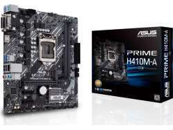 ASUS PRIME H410M-A/CSM Mainboard Micro/Mini/Flex-ATX 90MB13G0-M0EAYC