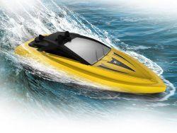 Speed Boat SYMA Q5 MINI BOAT 2.4G 2-Kanal (Geschwindigkeit 8 km/h) - GELB