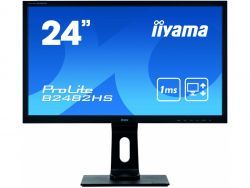 "IIYAMA 61.0cm (24"") B2482HS-B5 16:9 DVI+HDMI black Lift B2482HS-B5"