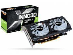 VGA Inno3D GeForce® GTX 1660 Super 6GB Twin X2 OC RGB | Inno3D - N166S2-06D6X-1712VA15LB