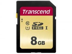 Transcend SD Card 8GB SDHC SDC500S 95/60 MB/s TS8GSDC500S