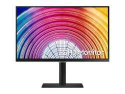 Samsung 61 cm (24 Zoll) -Wide Quad HD+ - LCD -Schwarz LS24A600NWUXEN
