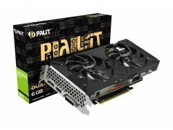 VGA Palit GTX 1660 Dual 6GB 1*DVI/1*HDMI/1*DP - NE51660018J9-1161C