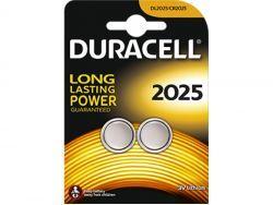 Duracell Batterie Lithium Knopfzelle CR2025 3V Blister (2-Pack) 203907