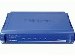 TRENDnet Router 4-Port 100MBit Broadband NAT Firewall-Schutz TW100-S4W1CA