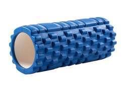 Yoga Massagerolle 33x14cm (Blau)