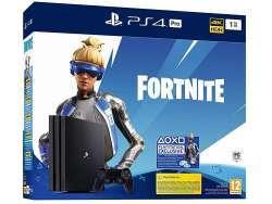 Sony PS4 Pro 1TB + Fortnite - PlayStation 4 Pro - Schwarz