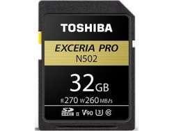 Toshiba SD-Card N502 32GB THN-N502G0320E6