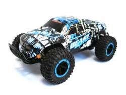 RC Monster Truck CHEETAH KING Beast 1:16 2.4G (schwarz-weiss-blau)