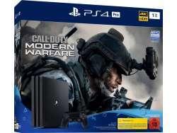 Sony Playstation 4 1TB Pro inkl. COD schwarz USK 18 - PS4 PRO COD