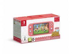 Nintendo Switch Lite koralle inkl. Animal Crossing - 10005232