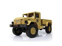 RC US Army Truck 1:16 WPL-B14R 4x4 (Beige)