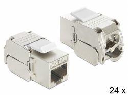 Delock Keystone RJ45 Bu > LSA werkzeugfrei Ca - 86405