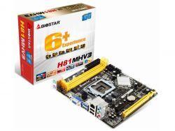 Biostar MB H81MHV3 (H81,S1150,mATX,DDR3,Intel,EuP) H81MHV3