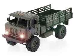 RC GAZ-66 Russischer Militär LKW 1:16 WPL-B24R 4x4 (Grün)