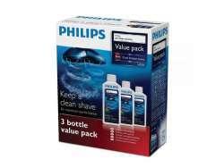 Philips Jet Clean-Reinigungslösung HQ203/50 (3 Flaschen Vorteilspack)