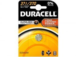 Duracell Batterie Silver Oxide Knopfzelle 371/370 Blister (1-Pack) 067820