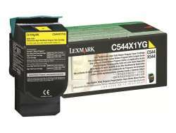 Lexmark TON C544X1YG yellow C544X1YG