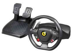 ThrustMaster Ferrari 458 Italia Lenkrad + Pedale PC Schwarz 2960734