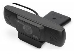 DIGITUS Full HD Webcam 1080p mit Autofokus Weitwinkel DA-71901