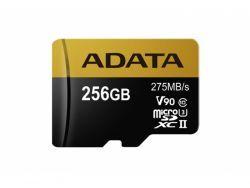 ADATA MicroSD/SDXC  Card 256GB UHS-II Cl.10 W/Adap. AUSDX256GUII3CL10-CA1