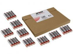 Batterie ARCAS Alkaline Mignon AA LR6 (32+4 Stk.)