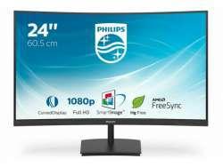 "Philips LED Curved-Display E-line 241E1SC - 61 cm (24"") - 1920 x 1080"