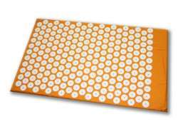 Shanti Akupressurmatte / Nagelmatte (65 x 41 cm, Orange)
