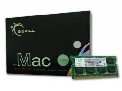 G.Skill 8GB DDR3-1600 - 8 GB -DDR3 - 1600 MHz - 204-pin SO-DIMM FA-1600C11S-8GSQ