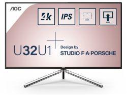 "AOC 81,3cm (31,5"") U32U1  16:09 2xHDMI+DP+USB 4K bla/silv U32U1"