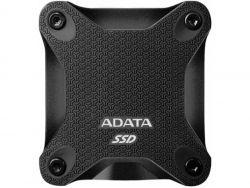 ADATA Externe SSD SD600Q 480GB USB 3.1 Gen 2 Type C - ASD600Q-480GU31-CBK