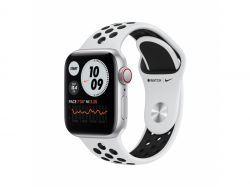 Apple Watch SE Nike Alu 40mm Sil Bracelet Platinium/BlackLTE iOS MYYW2FD/A