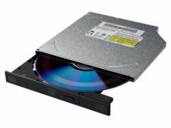 LiteOn Interner DVD-Brenner slim 12mm bulk black DS-8ACSH