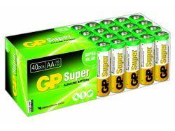 Batterien GP SUPER LR06 Mignon AA (40 St.) 03015AB40